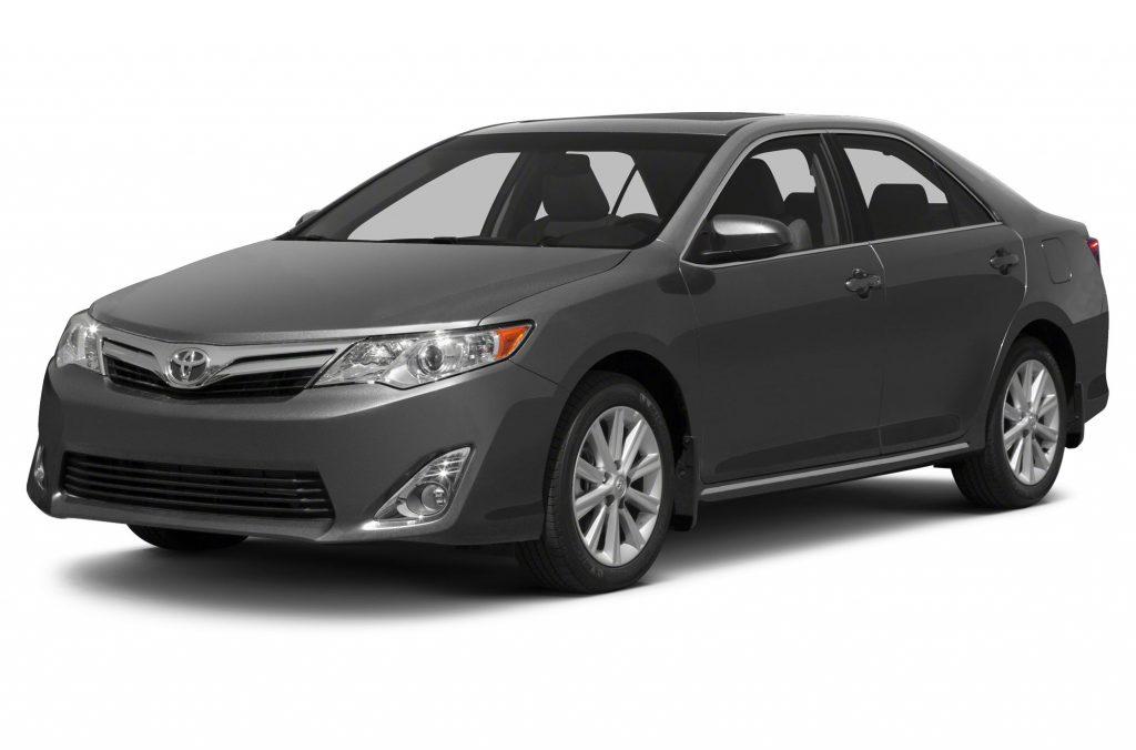 Black hybrid car